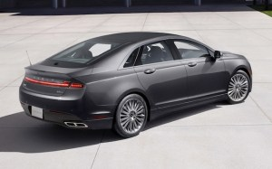 2013-Lincoln-MKZ-rear-three-quarter