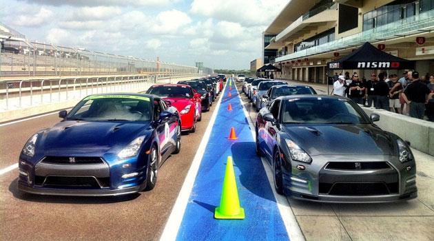 Nissan demuestra su rendimiento en la nueva pista de F1 en Austin