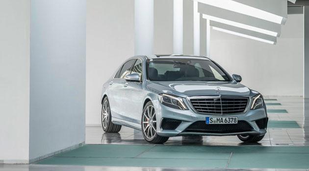 Así es el Mercedes-Benz S 63 AMG 2013
