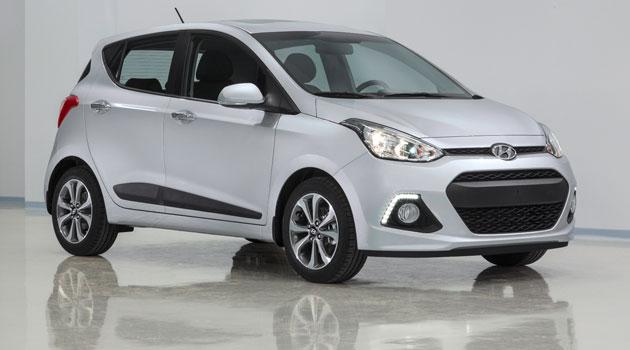 Hyundai i10 2013 en el Salón de Frankfurt