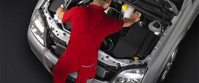 Fluidos vitales en un auto