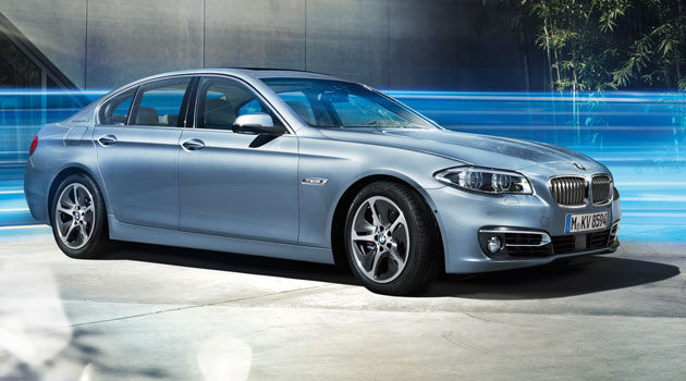 Llega a México el renovado BMW ActiveHybrid 5