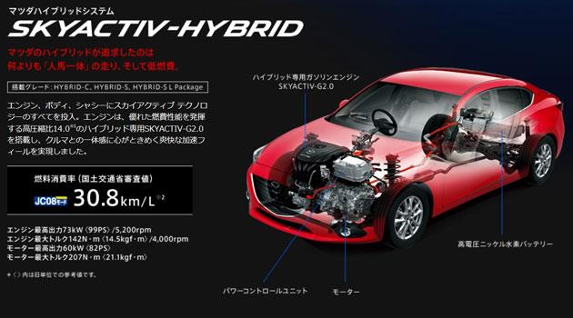 Mazda3 tendrá una versión híbrida en Japón