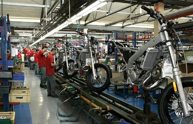Penetración lenta en el mercado de motocicletas