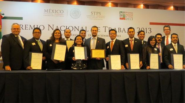 Iniciativa de Volkswagen de México obtiene el Premio Nacional del Trabajo