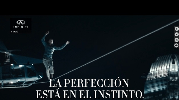 """Infiniti Q50: """"La perfección está en el instinto"""""""