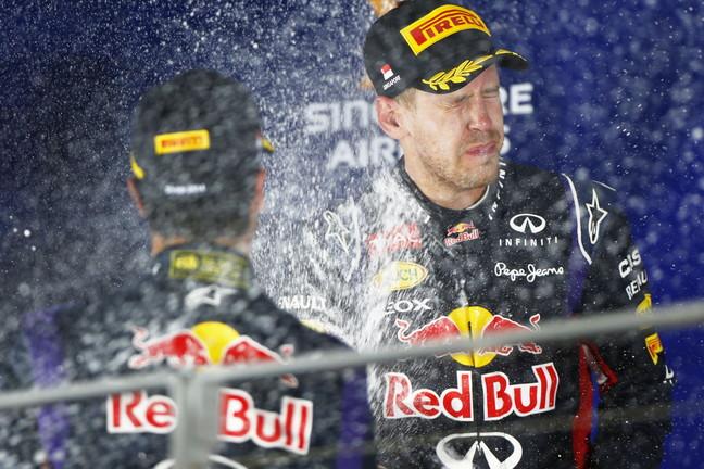 Infiniti Red Bull Racing conquista el segundo y tercer lugar en Marina Bay
