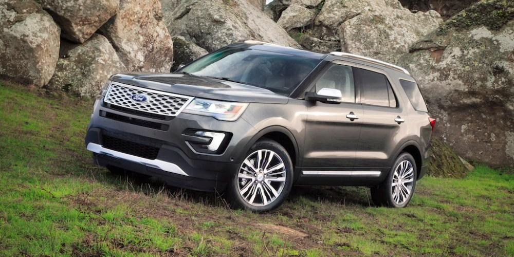 Nueva Ford Explorer 2016