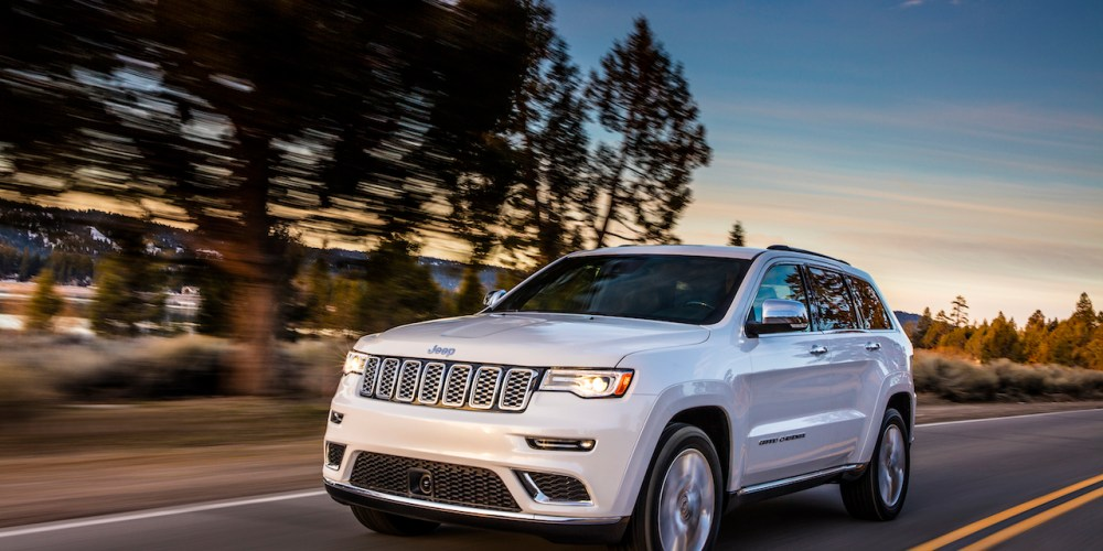 Jeep Grand Cherokee Summit y SRT 2017