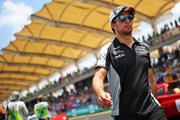 Checo Pérez renueva con Sahara Force India para la temporada 2017