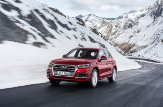 Audi Q5 quattro Dynamic photo, Colour: Garnet red