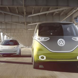 I.D. y I.D. BUZZ de VW.