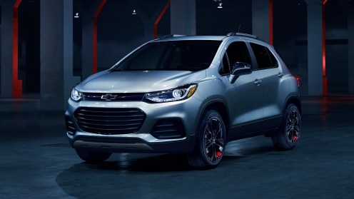 Offered on the LT trim level, Trax Redline edition features black wheels with distinct red hash marks, bowtie logos, black nameplates with red outline, and black grill and surround. Availability will be cadenced, and all Redline vehicles will be available for purchase by the end of 2017 calendar year.