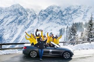 BMW y la cumbre de hielo a 1,600 metros de adrenalina