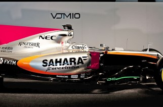 Sahara Force India presentó su nuevo VJM10 2017