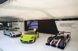 Porsche Panamera desde el XXXI Concurso Internacional de Elegancia