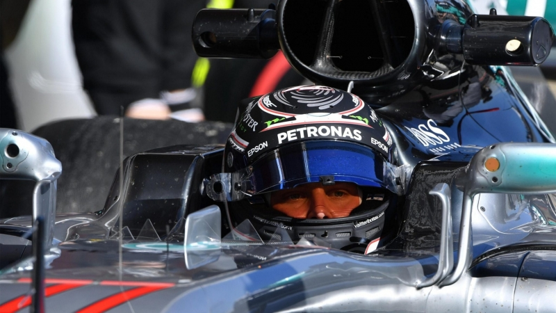 Bottas es el más rápido del tercer dia del F1 Testing