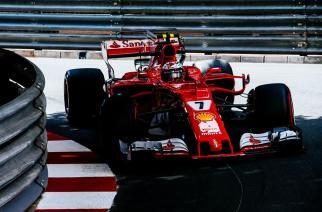 Raikkonen sorprende con la pole en Mónaco