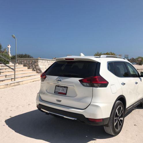 playa3_Nissan_xtrail_2018_las_salinitas_las_coloradas_Merida_coche