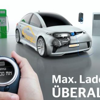 """Con el """"All Charge"""" de Continental, no importa dónde cargue su auto: será capaz de llenarlo de energía con cualquier corriente, librándose del estrés por carga."""