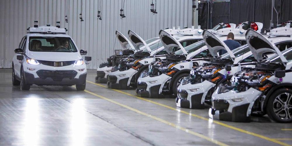 Chevrolet Bolt EV de conducción autónoma, GM lo hace posible
