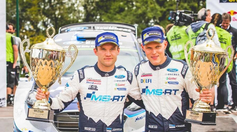 Segunda victoria de Tänak y Ogier cada vez más cerca del título