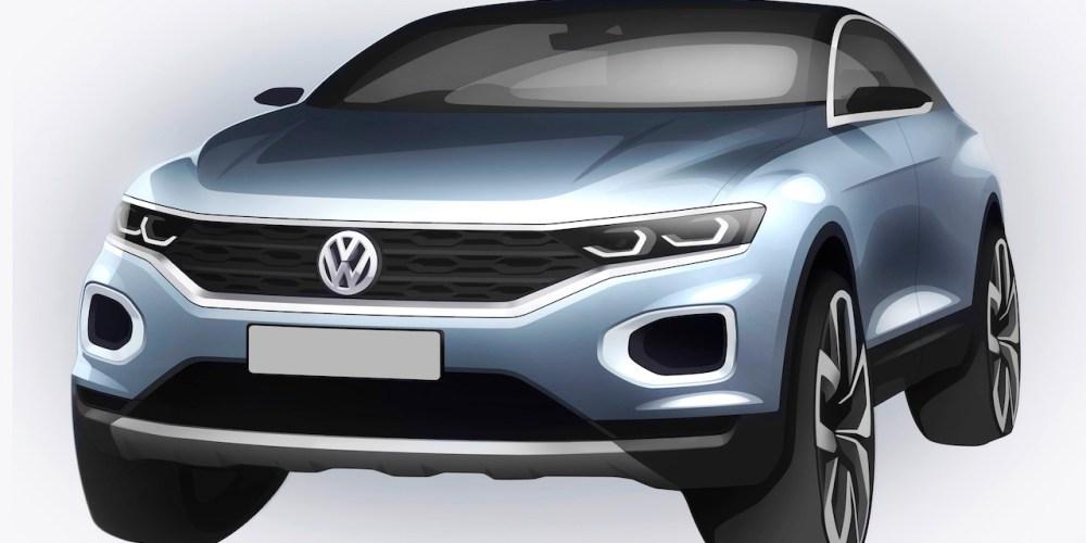 Volkswagen T-ROC, nuevo SUV que conoceremos el 23 de agosto