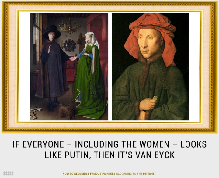 How To Recognise Famous Painters According To The Internet