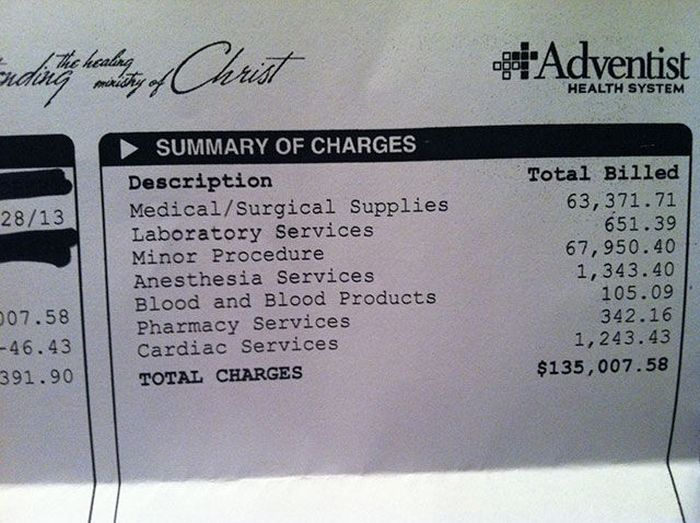 Us medical bills 15 pictures memolition altavistaventures Choice Image