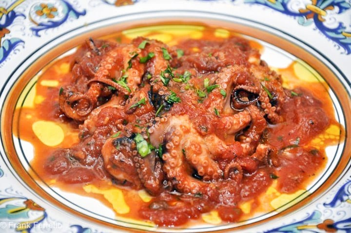 «Polpetielli» affogati (Stewed Baby Octopus)