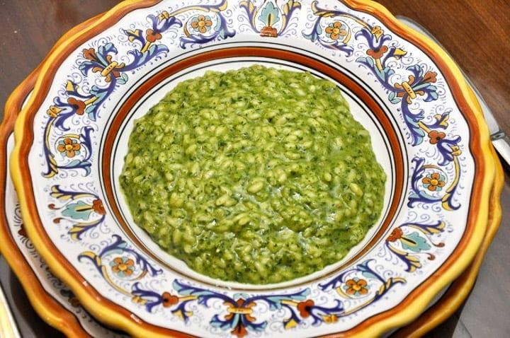 Risotto verde (Green Risotto) | Memorie di Angelina