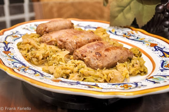 Italian Sausage and Cabbage