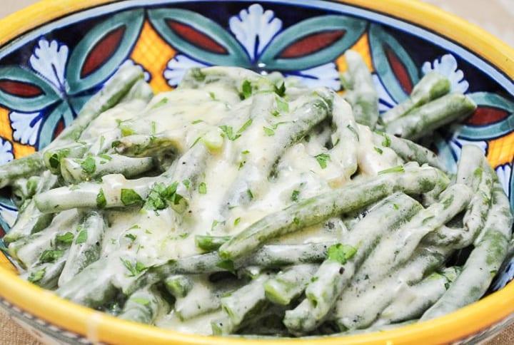 Fagiolini alla panna (Creamed Green Beans)