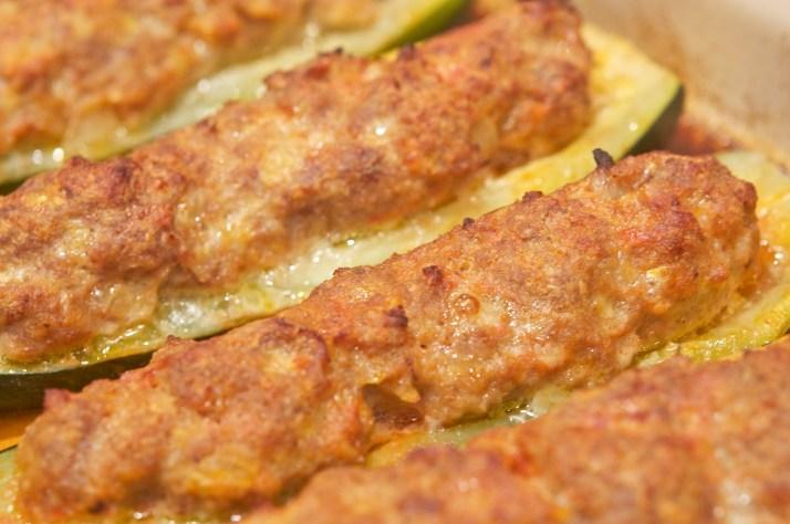 Zucchine ripiene al forno (Baked Zucchini Boats)