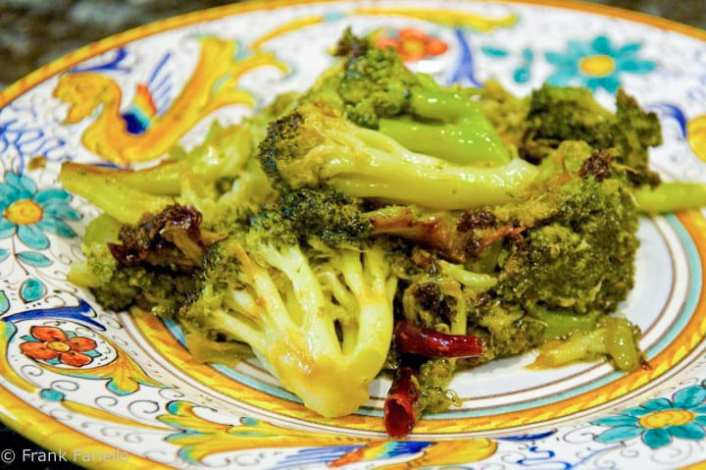 Dry Sauteed Broccoli