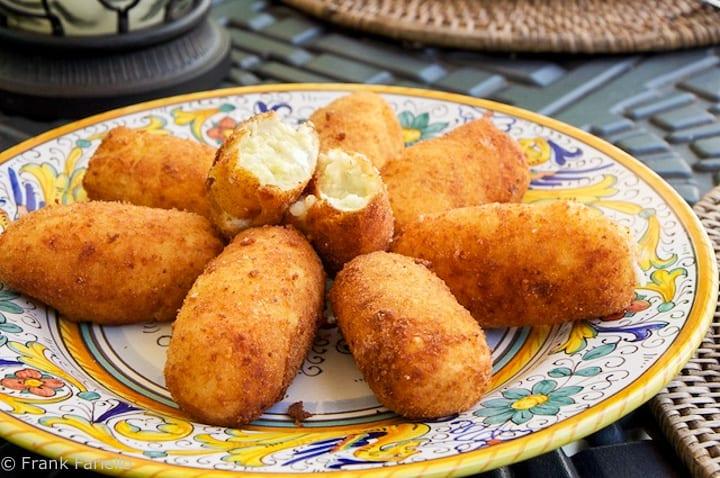 Croquette di patate (Potato Croquettes)