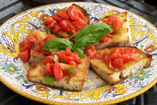 Authentic Bruschetta