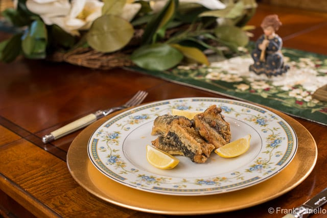 A Neapolitan Christmas: Capitone fritto (Fried Eel)