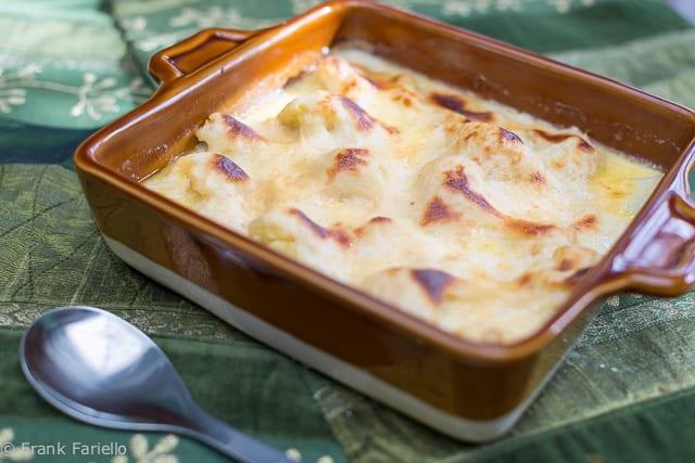 Cavolfiore al gratin (Gratinéed Cauliflower)