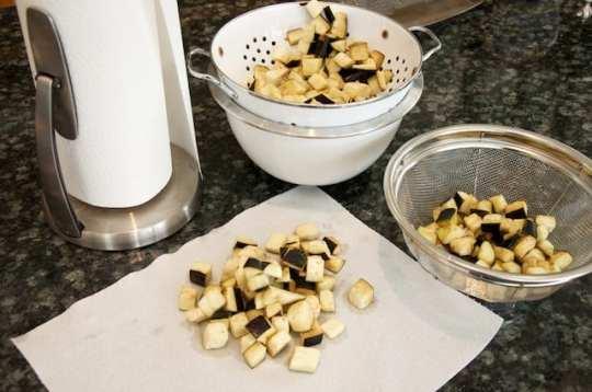Melanzane al funghetto (prep 2)