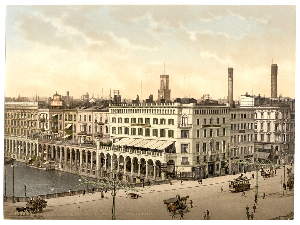 Arte Hotel Magdeburg Germany At The End Of The 19th Century Before Wwii