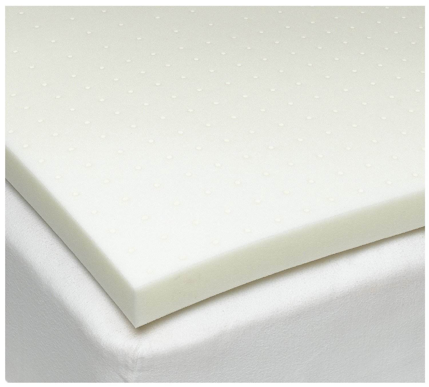 Sleep Joy Memory Foam Topper Sleep Joy Visc02 Ventilated Memory Foam Mattress Topper