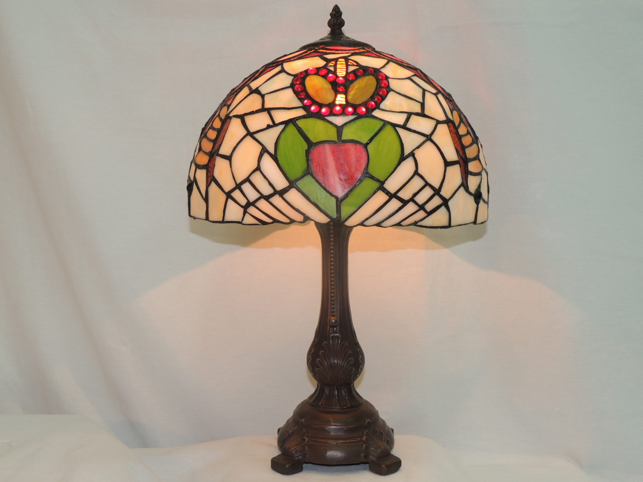 Glass Lamp Tables Ireland Irish Claddagh Memory Lamp Memory Lamps Of Beverly