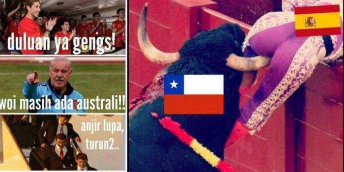 Lucu Tentang Kegagalan Spanyol Di Piala Dunia Mencuat Dot