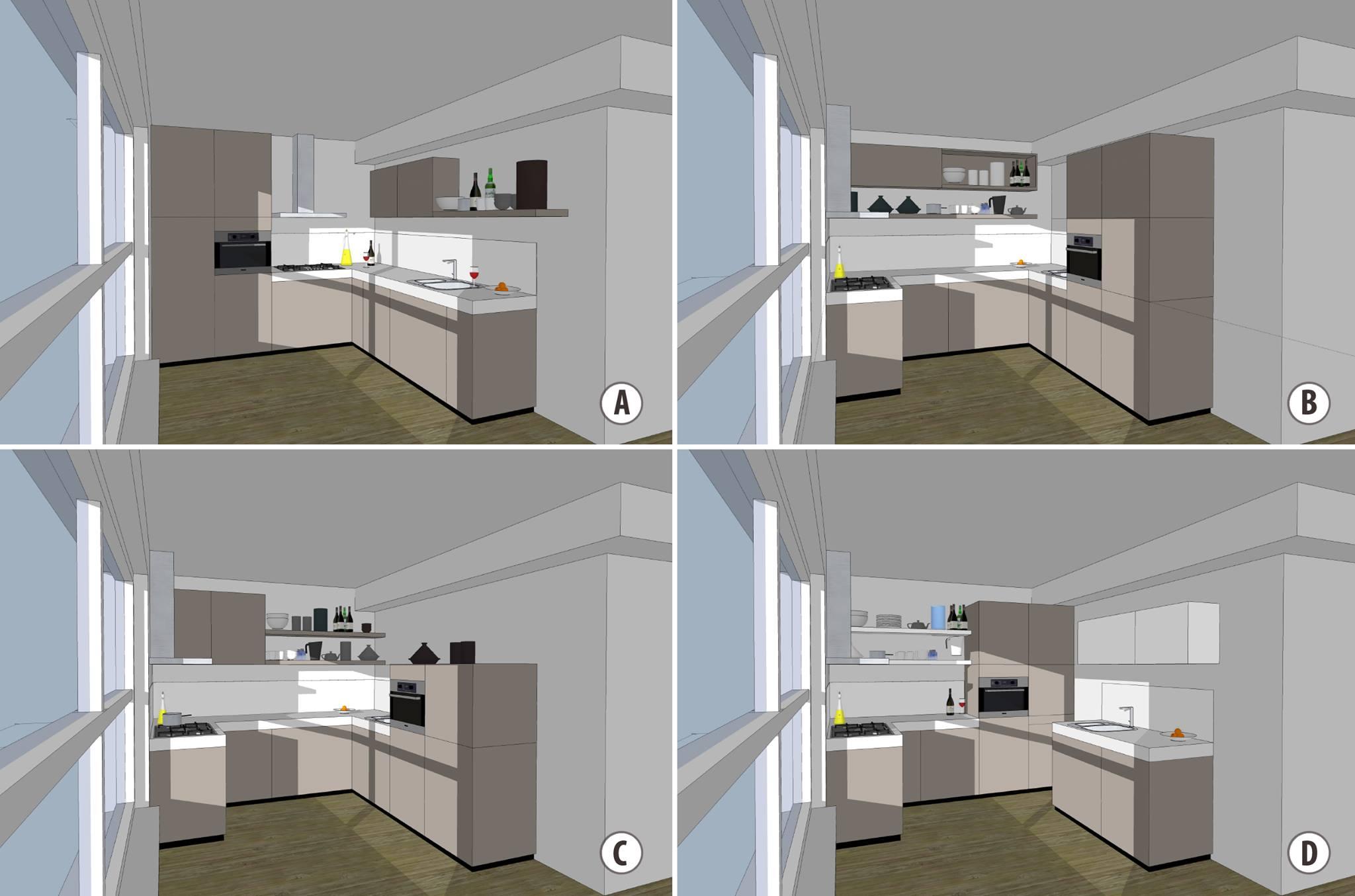 Keukeneiland T Vorm : Goedkope keukens u vorm keukenmontage montage keukens jan van