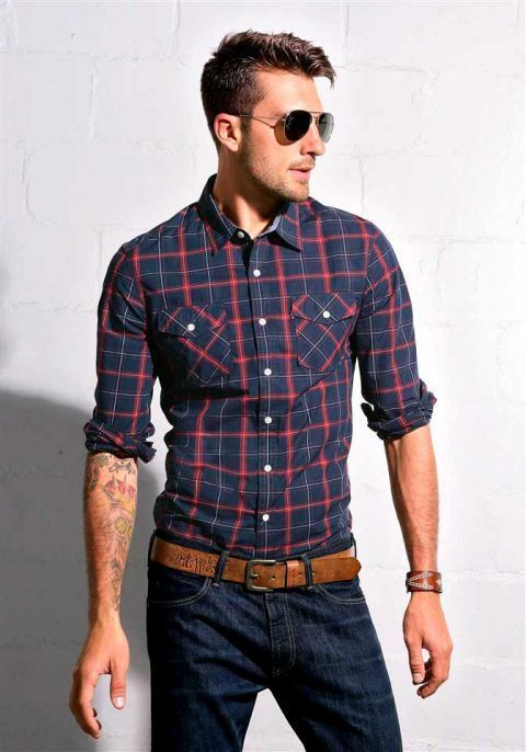 Camisas De Cuadros Hombres All Women Will Admire Men Dressing In These Ways! - Men