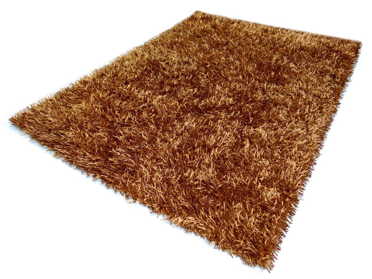 Tapis Shaggy Orange Bongo 3000