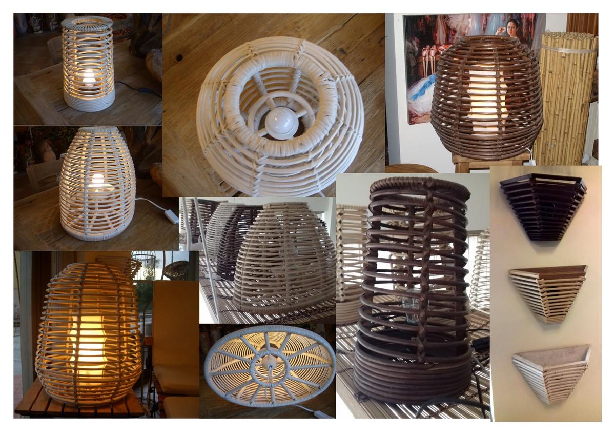 Plafoniere Vimini : Lampadari vimini lampada a sospensione non elettrificatain