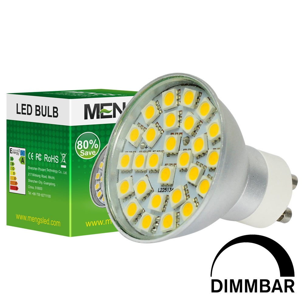 Led Gu10 5w Mengsled Mengs Gu10 5w Dimmable Led Spotlight 27x 5050 Smd Leds