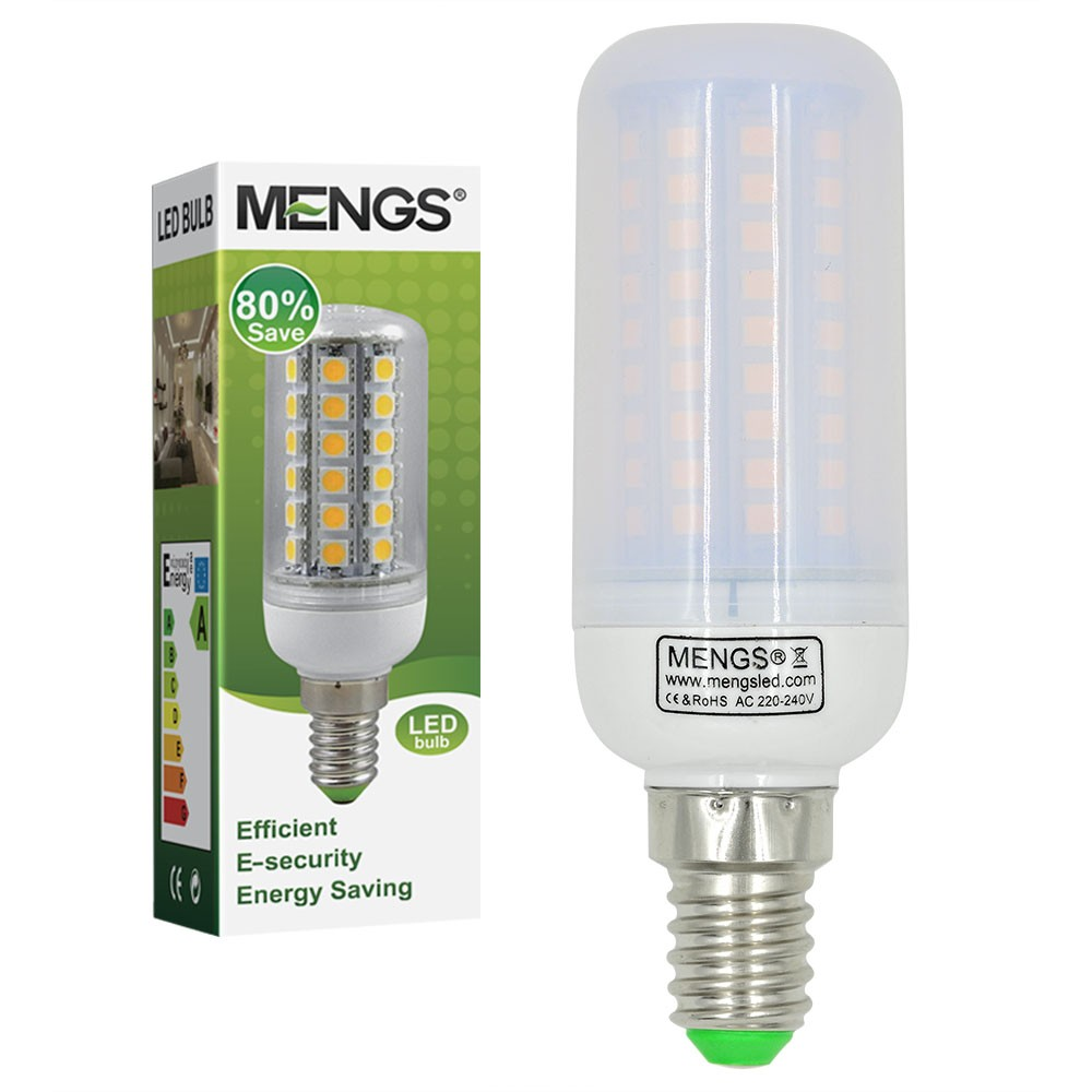 Led E 14 Mengsled Mengs E14 12w Led Corn Light 102x 2835 Smd Led Lamp